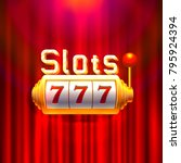 slots 777 casino jackpot ...   Shutterstock .eps vector #795924394
