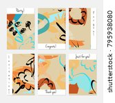 hand drawn creative universal... | Shutterstock .eps vector #795938080