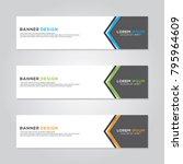 banner background modern vector ...   Shutterstock .eps vector #795964609