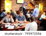 syzran  russia   january 16 ... | Shutterstock . vector #795972556