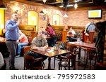syzran  russia   january 16 ... | Shutterstock . vector #795972583