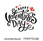 valentines day party design.... | Shutterstock .eps vector #795975148