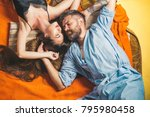 love and romance  perfect... | Shutterstock . vector #795980458