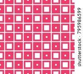 fabric print. geometric pattern ... | Shutterstock . vector #795986599
