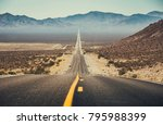 classic panorama view of an... | Shutterstock . vector #795988399