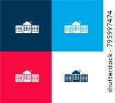 educative academy buildings... | Shutterstock .eps vector #795997474