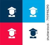 graduate four color material...