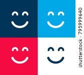 emoticon square smiling face... | Shutterstock .eps vector #795999640