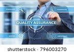 quality assurance service... | Shutterstock . vector #796003270