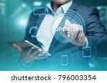 update software computer... | Shutterstock . vector #796003354