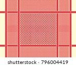 arabian saudi uae turban pattern | Shutterstock .eps vector #796004419