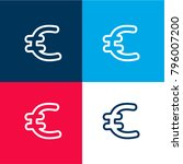 euro hand drawn currency symbol ...