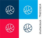 basketball four color material...