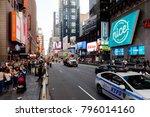new york  usa   sep 16  2017 ... | Shutterstock . vector #796014160