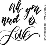 all you need is love | Shutterstock .eps vector #796024873