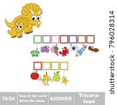 educational puzzle game for... | Shutterstock .eps vector #796028314