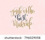 smile is the best makeup   gold ...