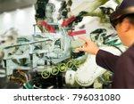 iot industry 4.0 concept... | Shutterstock . vector #796031080