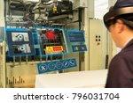 iot smart industry 4.0 concept. ...   Shutterstock . vector #796031704