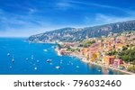 beautiful coast of french... | Shutterstock . vector #796032460