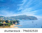 beautiful coast of french... | Shutterstock . vector #796032520