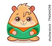 cartoon vector illustration of... | Shutterstock .eps vector #796044298