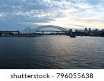 beautiful view of the sydney...   Shutterstock . vector #796055638