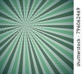 blue green colored pop art... | Shutterstock .eps vector #796062469