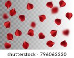 vector wedding illustration.... | Shutterstock .eps vector #796063330