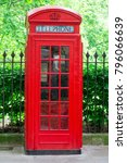 the telephone booth in london | Shutterstock . vector #796066639