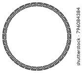 Black Circle Frame For...