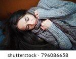 flu cold or allergy symptom... | Shutterstock . vector #796086658
