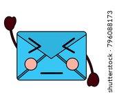 mail envelope kawaii character...   Shutterstock .eps vector #796088173