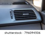 car vent close up air... | Shutterstock . vector #796094506