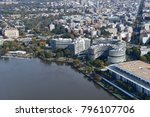 aerial view of the watergate... | Shutterstock . vector #796107706