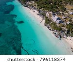 ruins of tulum  mexico... | Shutterstock . vector #796118374