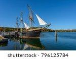 the joseph conrad at mystic... | Shutterstock . vector #796125784