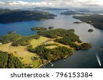 Aerial Image Of Orcas Island ...