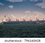 logistics and transportation of ... | Shutterstock . vector #796160428