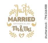 Wedding Card Hand Drawn Vector...