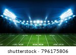 american football arena field... | Shutterstock .eps vector #796175806