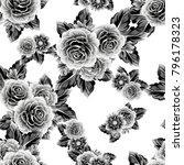 abstract elegance seamless... | Shutterstock .eps vector #796178323