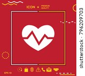 heart medical icon | Shutterstock .eps vector #796209703
