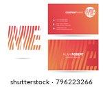 m   e joint logo waves line...   Shutterstock .eps vector #796223266