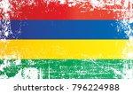 flag of mauritius  overseas... | Shutterstock . vector #796224988