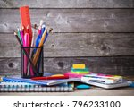 back to scholl concept | Shutterstock . vector #796233100