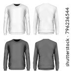 men's sweater black and white...