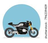 Bmw R Nine T Cafe Racer Cartoon ...
