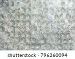 zinc texture or background | Shutterstock . vector #796260094