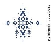abstract monotone geometric... | Shutterstock .eps vector #796267153